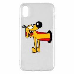 Чехол для iPhone X/Xs Пес