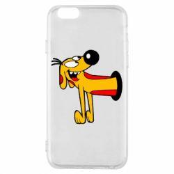 Чехол для iPhone 6/6S Пес