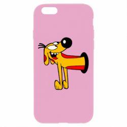 Чехол для iPhone 6 Plus/6S Plus Пес