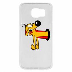 Чехол для Samsung S6 Пес