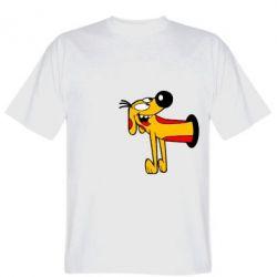 Мужская футболка Пес