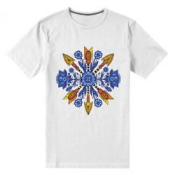 Мужская стрейчевая футболка Petrikovka