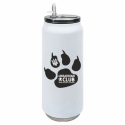 Термобанка 500ml PEUGEOT CLUB UKRAINE