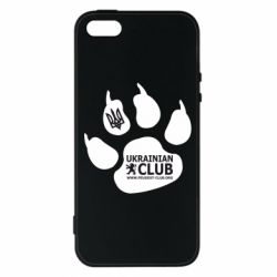 Чохол для iphone 5/5S/SE PEUGEOT CLUB UKRAINE