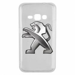 Чохол для Samsung J1 2016 Peugeot Logo