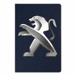 Блокнот А5 Peugeot Logo