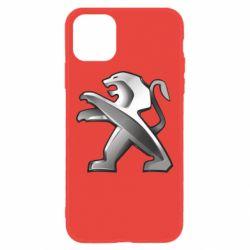 Чохол для iPhone 11 Peugeot Logo
