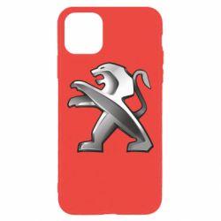 Чохол для iPhone 11 Pro Max Peugeot Logo