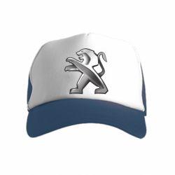 Дитяча кепка-тракер Peugeot Logo