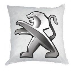 Подушка Peugeot Logo
