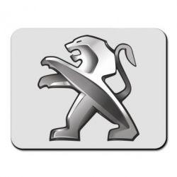 Коврик для мыши Peugeot Logo