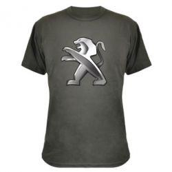 Камуфляжная футболка Peugeot Logo