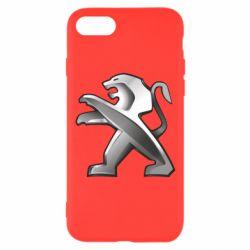 Чохол для iPhone 7 Peugeot Logo