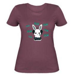 Женская футболка Pew pew pew 1