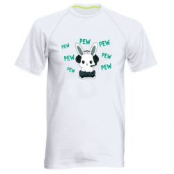 Мужская спортивная футболка Pew pew pew 1