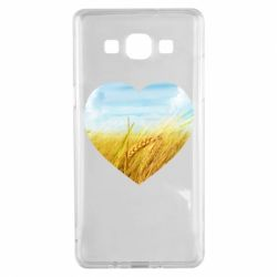 Чохол для Samsung A5 2015 Пейзаж України в серце
