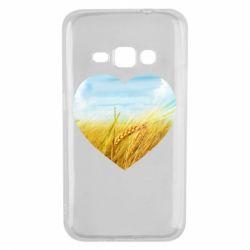 Чохол для Samsung J1 2016 Пейзаж України в серце