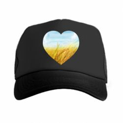 Кепка-тракер Пейзаж України в серце