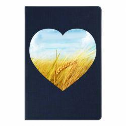Блокнот А5 Пейзаж України в серце