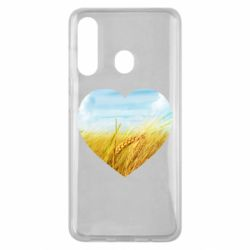 Чохол для Samsung M40 Пейзаж України в серце