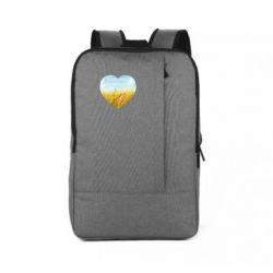 Рюкзак для ноутбука Пейзаж України в серце
