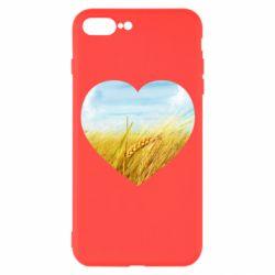 Чохол для iPhone 7 Plus Пейзаж України в серце