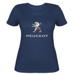Женская футболка Пежо