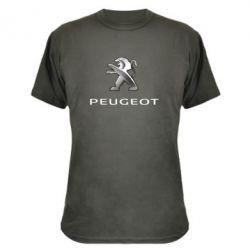 Камуфляжна футболка Пежо
