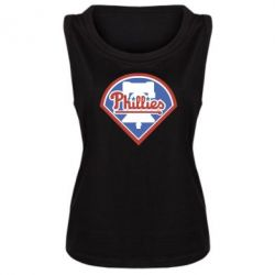 Женская майка Philadelphia Phillies - FatLine