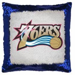 Подушка-хамелеон Philadelpia 76ers