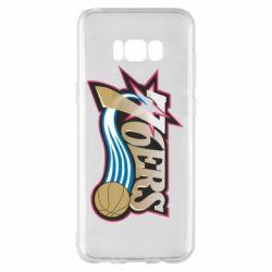 Чохол для Samsung S8+ Philadelpia 76ers