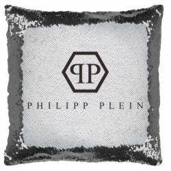 Подушка-хамелеон Philipp Plein