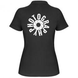 Женская футболка поло Photography