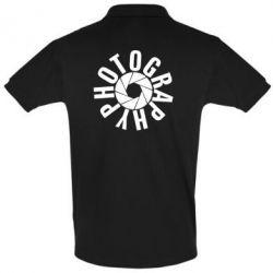 Мужская футболка поло Photography