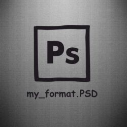 Наклейка Photoshop psd - FatLine