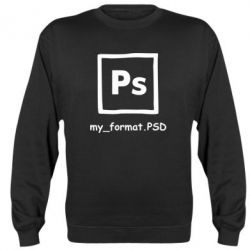 Реглан (свитшот) Photoshop psd - FatLine