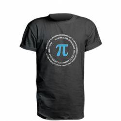 Подовжена футболка Pi