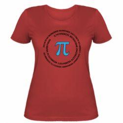 Жіноча футболка Pi