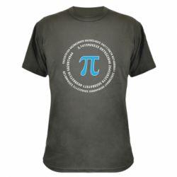 Камуфляжна футболка Pi