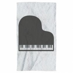 Рушник Piano in the heart