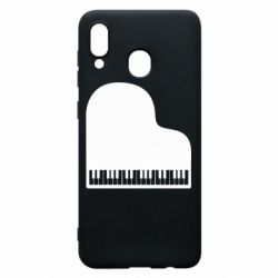 Чохол для Samsung A20 Piano in the heart