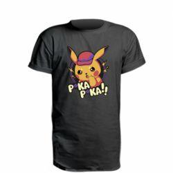 Удлиненная футболка Pica-Pica