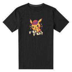 Мужская стрейчевая футболка Pica-Pica