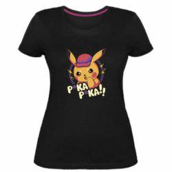 Женская стрейчевая футболка Pica-Pica