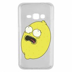 Чохол для Samsung J1 2016 Pickle Rick Sanchez