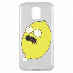 Чохол для Samsung S5 Pickle Rick Sanchez