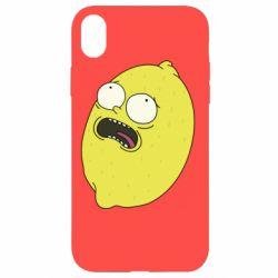 Чохол для iPhone XR Pickle Rick Sanchez