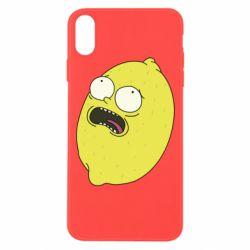 Чохол для iPhone Xs Max Pickle Rick Sanchez