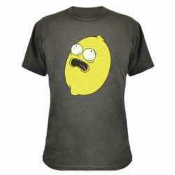 Камуфляжна футболка Pickle Rick Sanchez