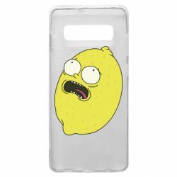 Чохол для Samsung S10+ Pickle Rick Sanchez